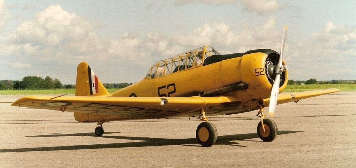Na T 6 Texan Harvard Brian Taylor Rc Model Scale Plan
