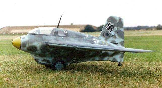 Messerschmitt Me163 Komet Brian Taylor Rc Model