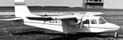 Britten Norman Islander Plan