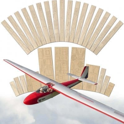Slingsby T42 Eagle - Laser Cut Wood Pack