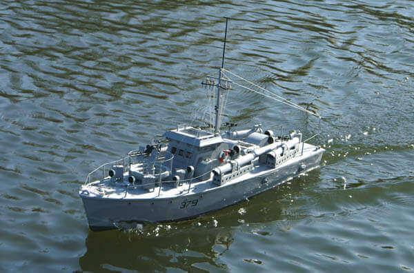 Vosper MTB 379 Plan