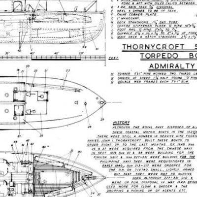 THORNEYCROFT 55FT. CMB
