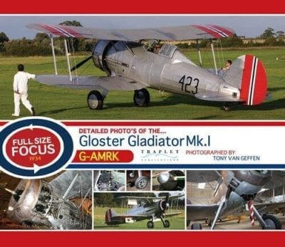 Gloster Gladiator Mk1 - 'Full Size Focus' Photo CD