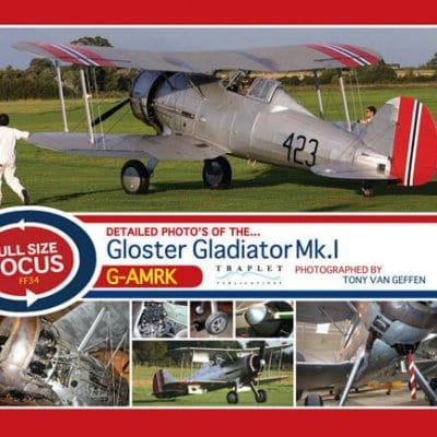 Gloster Gladiator Mk1 - 'Full Size Focus' Photo CD