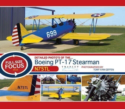 Boeing PT17 Stearman - 'Full Size Focus' Photo CD