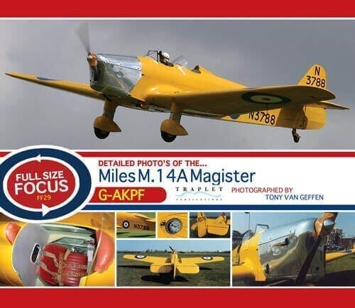 Miles M.14A Hawk Trainer III (Magister Mk I) - 'Full Size Focus' Photo CD
