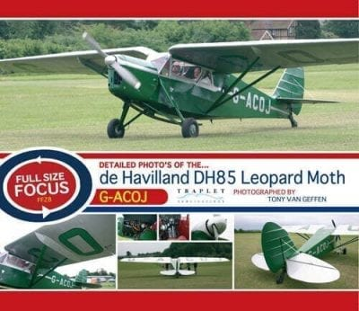 de Havilland DH.85 Leopard Moth (Photo CD)