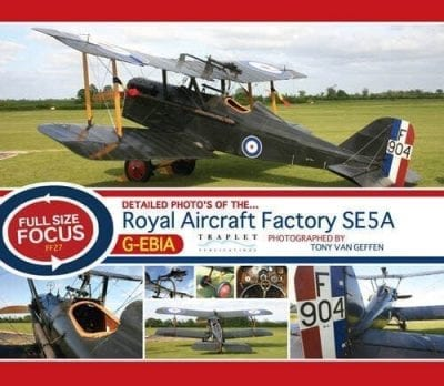 Royal Aircraft Factory SE5A - 'Full Size Focus' Photo CD