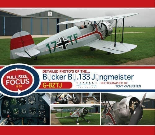 Casa-Bucker Bu.133 Jungmeister - 'Full Size Focus' Photo CD