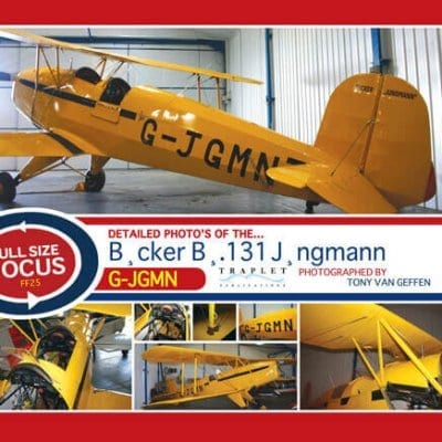 Bucker Bu.131 Jungmann - 'Full Size Focus' Photo CD