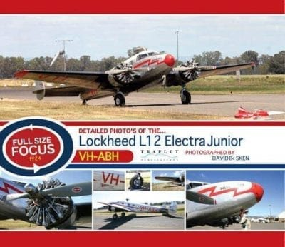 Lockheed L12 Electra Junior VH-ABH - 'Full Size Focus' Photo CD