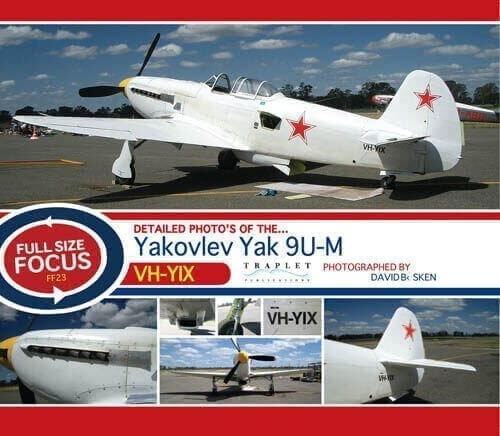 Yak 9U-M VH YIX - 'Full Size Focus' Photo CD