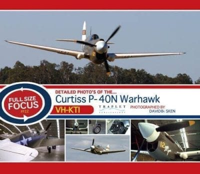 Curtiss P-40N Warhawk VH-KTI - 'Full Size Focus' Photo CD
