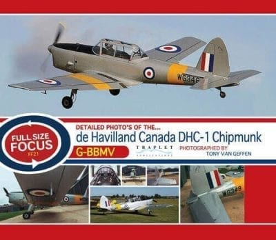 DHC 1 Chipmunk G-BBMV (WG348) - 'Full Size Focus' Photo CD
