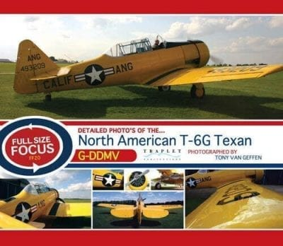 NA T-66 Texan/Harvard G-DDMV - 'Full Size Focus' Photo CD