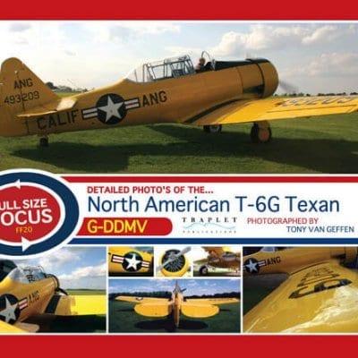 NA T-66 Texan/Harvard G-DDMV - 'Full Size Focus' Photo CD