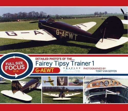 Fairey Tipsy Trainer 1 G-AEWT - 'Full Size Focus' Photo CD