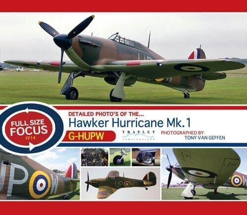 Hawker Hurricane Mk 1 G-HUPW - 'Full Size Focus' Photo CD