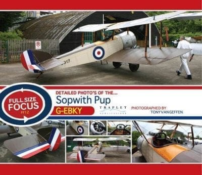 Sopwith Pup G-EBKY - 'Full Size Focus' Photo CD