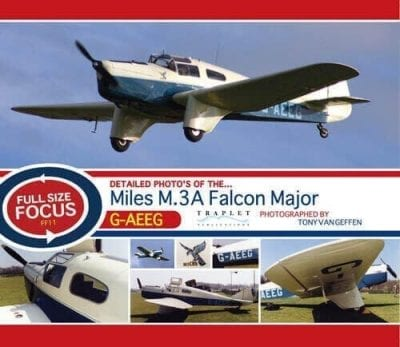 Miles M.3A Falcon Major G-AEEG - 'Full Size Focus' Photo CD