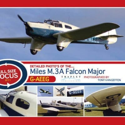 Miles M.3A Falcon Major G-AEEG - 'Full Size Focus' Photo CD