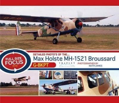 Max Holste MH-1521 Broussard G-BKPT - 'Full Size Focus' Photo CD