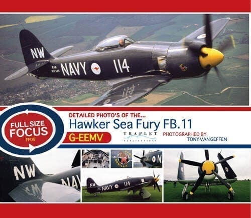 Hawker Sea Fury FB.11 G-EEMV - 'Full Size Focus' Photo CD