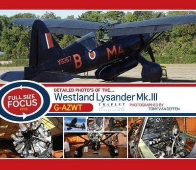 Westland Lysander Mk.III SD G-AZWT - 'Full Size Focus' Photo CD