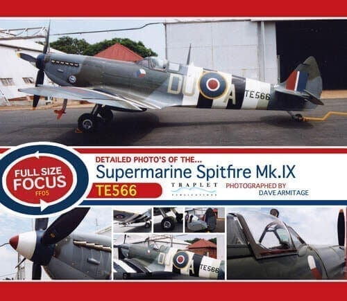 Supermarine Spitfire Mk.IX TE566 - 'Full Size Focus' Photo CD