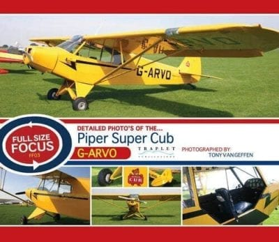 Piper PA18-95 Super Cub G-ARVO - 'Full Size Focus' Photo CD
