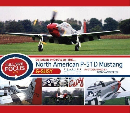 North American P-51D Mustang G-SUZY - 'Full Size Focus' Photo CD