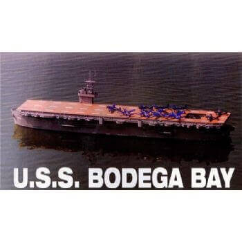 USS Bodega Bay CNC Wood Pack