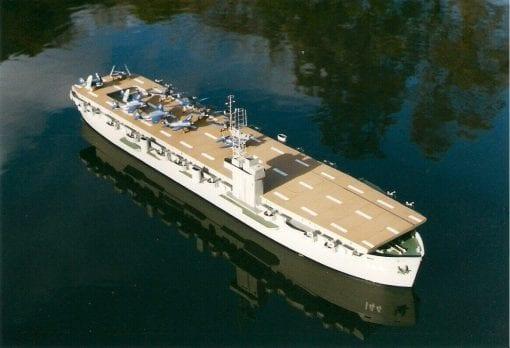 USS Bodega Bay CNC Wood Pack