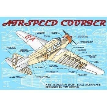 Airspeed Courier Plan