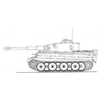 ML120 Panzerkampfwagen Tiger Ausf E