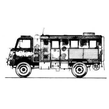 ML152 Bedford QL Lorry Variants