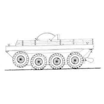 ML146 Terrapin Mk1 Amphibian 4 ton 8 x 8