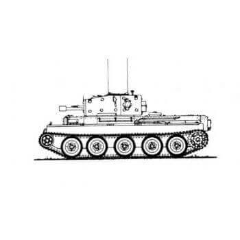 ML143 Centaur IV Close Support Tank