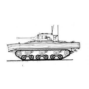 ML136 Sherman DO Tank