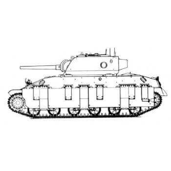 ML122 Assault Tank T14 75mm