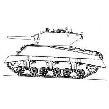 ML110 Medium Tank M4A3E2 (75mm gun) Assault