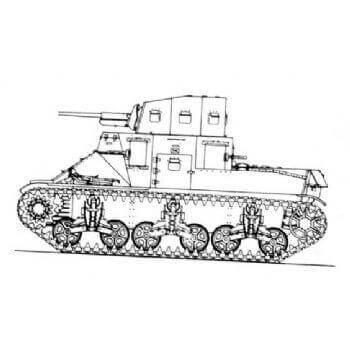 ML109 Medium Tank M2A1