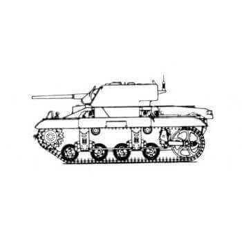 ML123 Light Tank M22 'Locust'T9E1