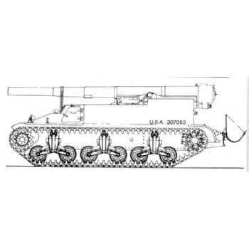 ML104 155mm Gun Motor Carriage T6