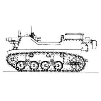 ML102   106mm Howitzer Motor Carriage 1'82