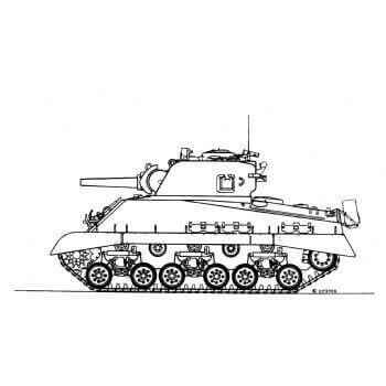 ML111 Medium Tank M4/105mm Howitzer