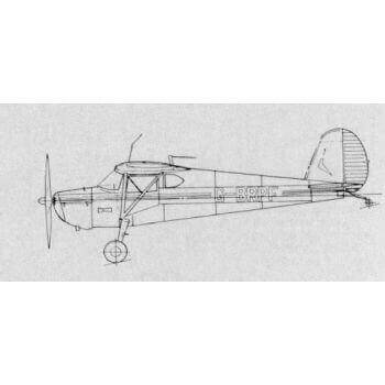 Cessna 120/40 Line Drawing 3110