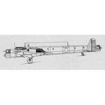 Armstrong Whitworth Whitney Line Drawing 3117