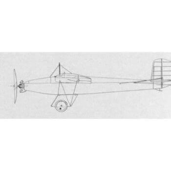 Farman F450 Moustique Line Drawing 3119