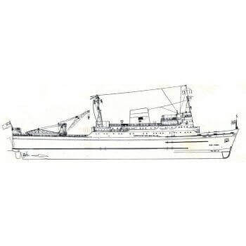 M.V Bardic Ferry MM636 Steam Passenger Ferry Plan